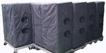 D&B Audiotechnik J8 and J10 padded canvas speaker covers