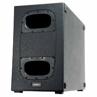 QSC KS212C Padded Canvas Speaker Cover by COVER IT! Australia